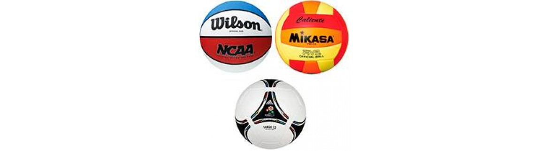 Мячи футбольные, баскетбольные, волейбольные