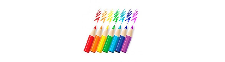 Карандаши простые, цветные