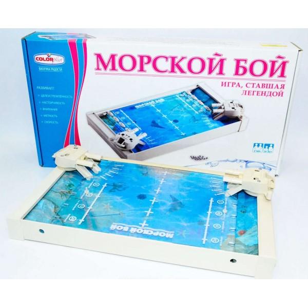 """Игра Морской Бой, 1234, """"COLOR PLAST"""""""