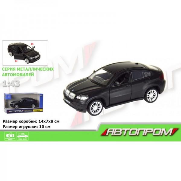 """Машинка """"Автопром"""", """"BMW X6"""", 7622"""