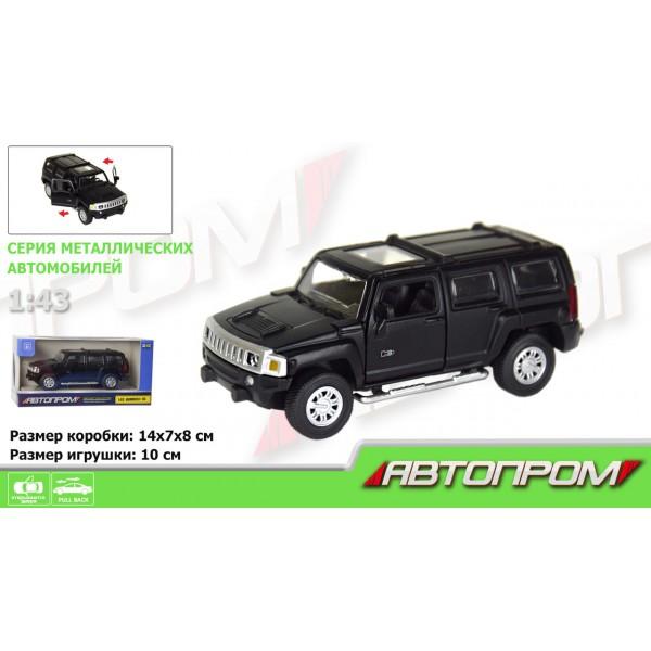 """Машинка """"Автопром"""", """"Hummer H3"""", 7623"""