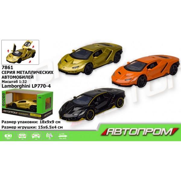 "Машинка ""Автопром"", ""Lamborghini  LP770-4"", 7861"