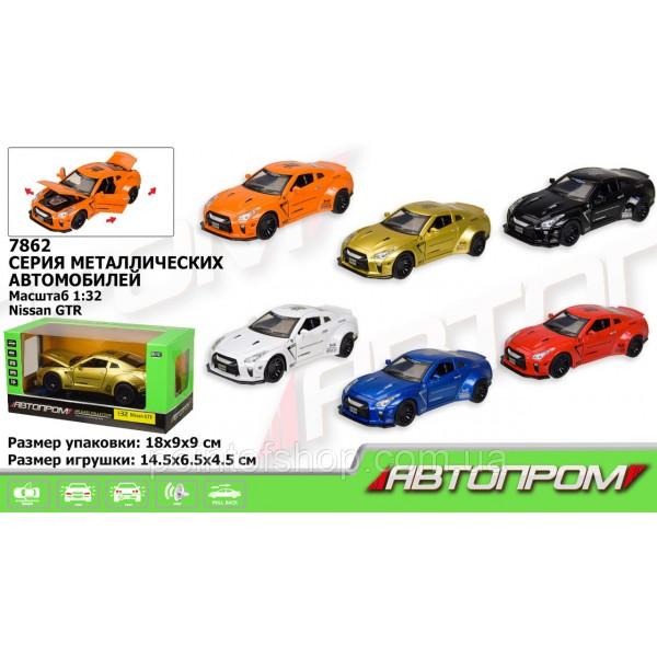 """Машинка """"Автопром"""", """"Nissan GTR"""", 7862"""