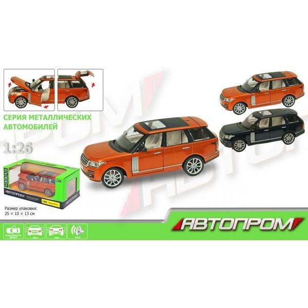 """Машинка """"Автопром"""", """"Range Rover"""", 68263А"""