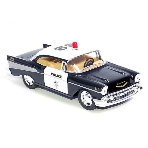 """Машинка """"Kinsmart"""", """"1957 Chevrolet Corvette (Police)"""", KT5323W"""