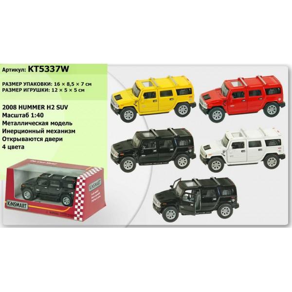 """Машинка """"Kinsmart"""", """"2008 Hummer H2 SUV"""", KT5337W"""