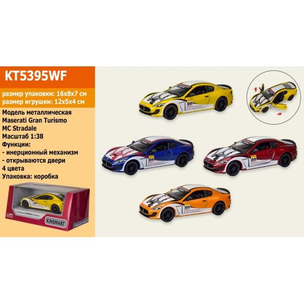 "Машинка ""Kinsmart"", ""2016 Maserati GranTurismo MC Stradale"", KT5395WF"