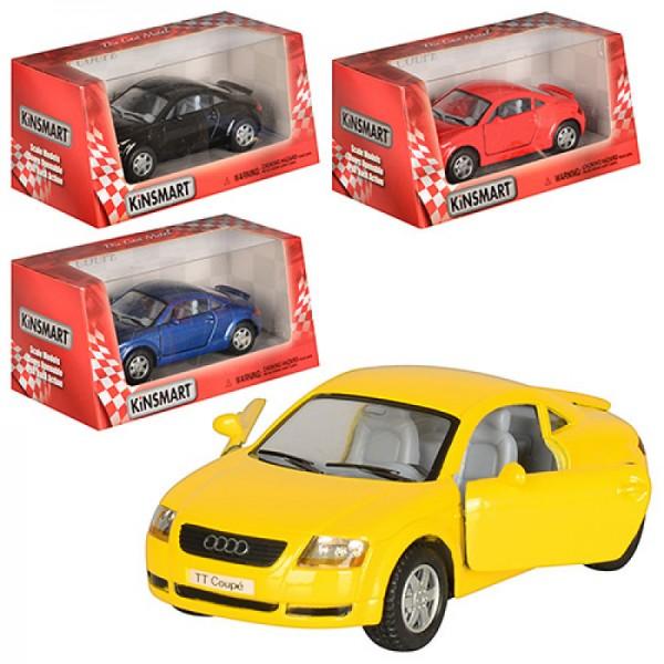 """Машинка """"Kinsmart"""", """"Audi TT Coupe"""", KT5016W"""