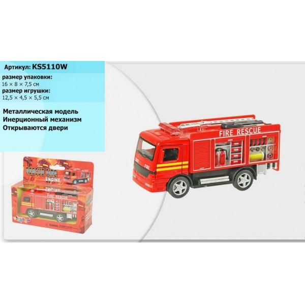 "Машинка ""Kinsmart"", ""Fire Engine"", KS5110W"