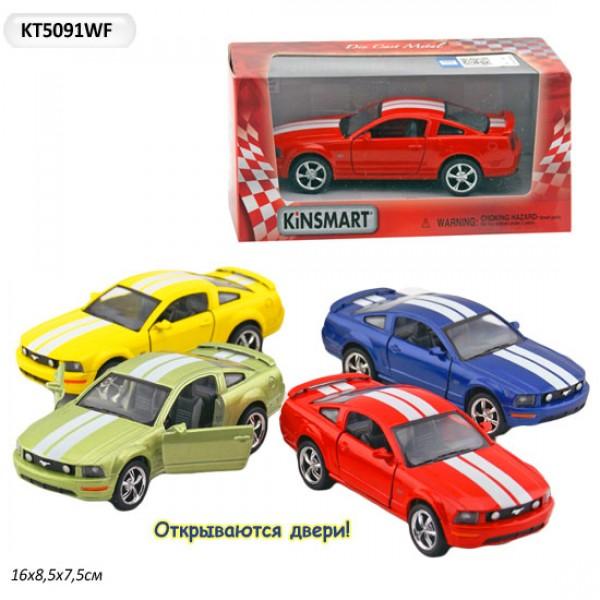 "Машинка ""Kinsmart"", ""Ford Mustang GT 2006"", KT5091WF"