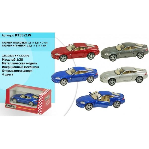 """Машинка """"Kinsmart"""", """"Jaguar XK Coupe"""", KT5321W"""