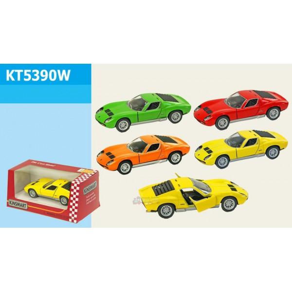 "Машинка ""Kinsmart"", ""Lamborghini Miura P400 SV"", KT5390W"