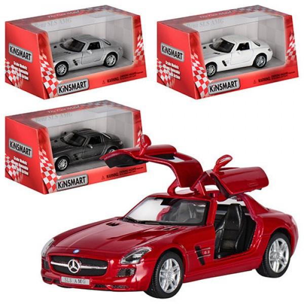 "Машинка ""Kinsmart"", ""Mercedes-Benz SLS AMG"", KT5349W"