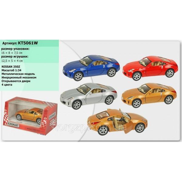 """Машинка """"Kinsmart"""", """"Nissan Fairlady 350Z"""", KT5061W"""