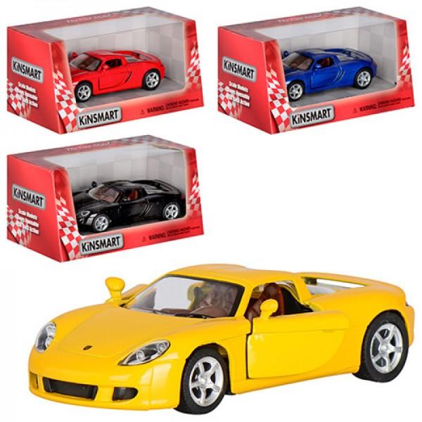 """Машинка """"Kinsmart"""", """"Porsche Carrera GT"""", KT5081W"""