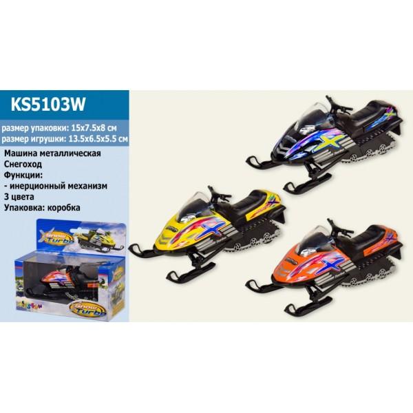 """Машинка """"Kinsmart"""", """"Snow Turbo"""", KS5103W"""