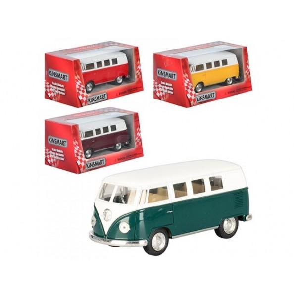 """Машинка """"Kinsmart"""", """"Volkswagen Classical Bus (1962)"""", KT5060W"""