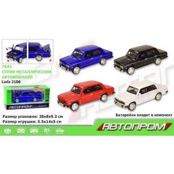 """Машинка """"Lada 2106"""", 7642"""