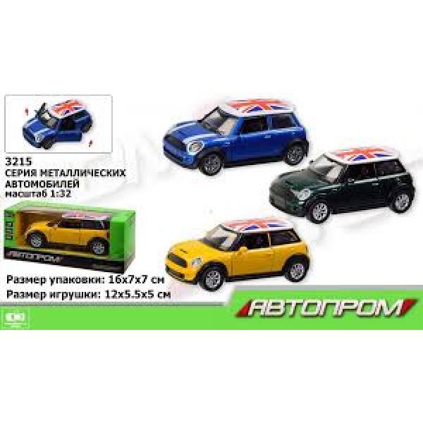 """Машинка """"Mini Cooper"""", 3215"""