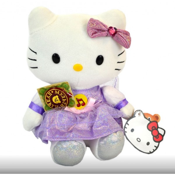 "Мягкая игрушка, Мульти-пульти, ""Hello Kitty"", V26750/22"