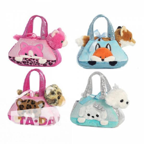 """Мягкая игрушка, """"Животное в сумочке"""", CLG17052"""