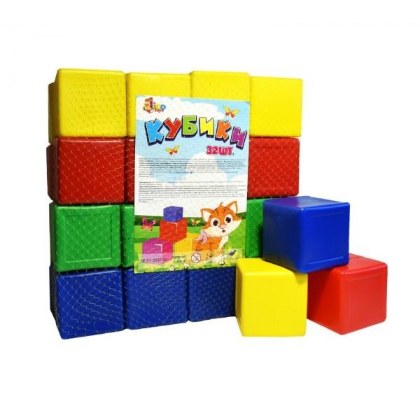 Набор цветных кубиков, L-002-9