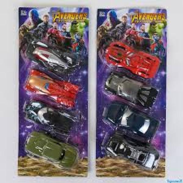 Набор машин Супер-героев, 826-193