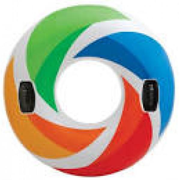 """Надувной круг """"Цветной вихрь"""", 58202"""