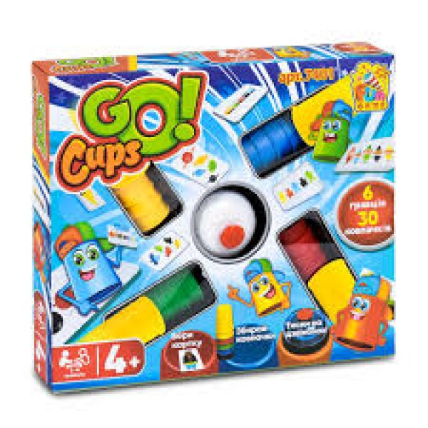 """Настольная игра """"Go Cups"""", 7401"""