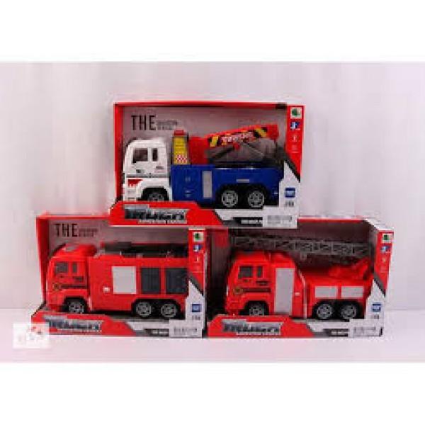 Пожарная машинка, 89002A-4-5-6