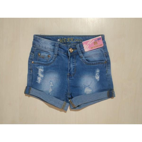 Шорты джинсовые, ZB-48120