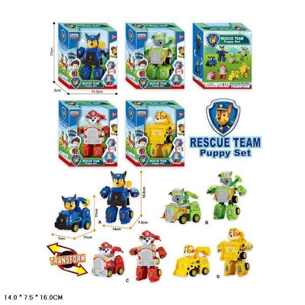 Трансформер A018-1 Rescue Team