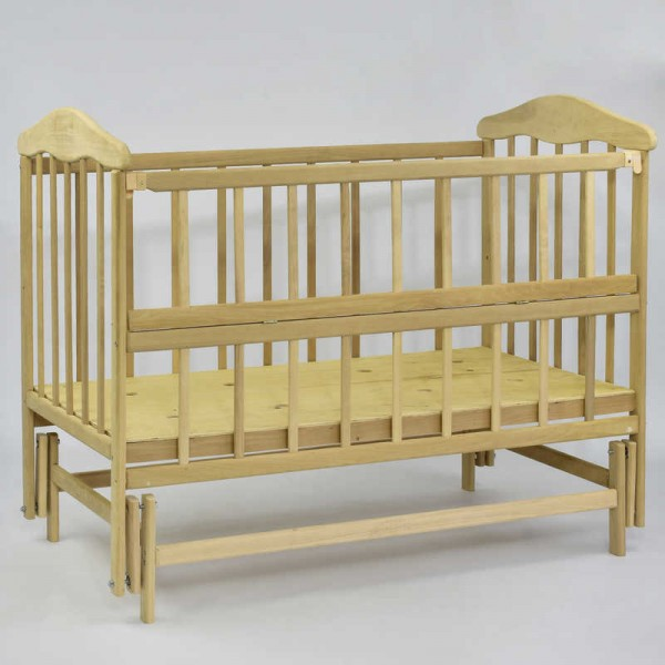 *Кроватка деревянная маятник №11 (1)