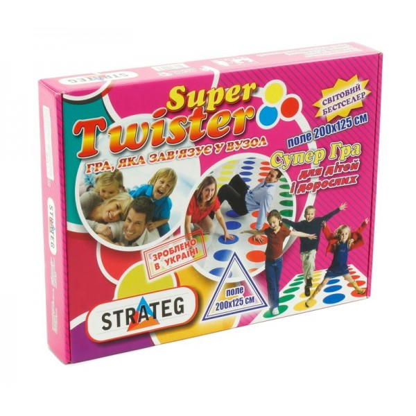 "Игра ""Твистер Super "" 386 (10) ""STRATEG"""