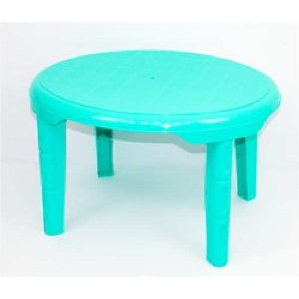 """Стол детский овальный (1) - цвет бирюзовый """"K-PLAST"""""""