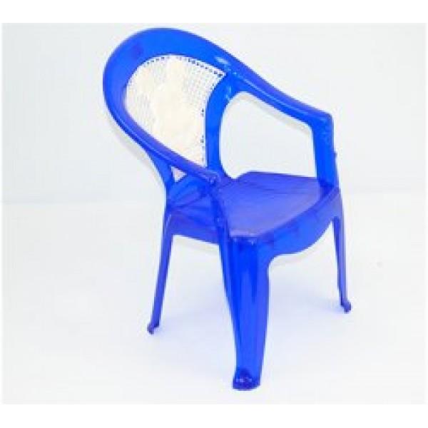 """Кресло детское №1 (10) - цвет синий """"K-PLAST"""""""