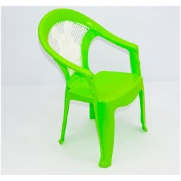"""Кресло детское №1 (10) - цвет салатовый """"K-PLAST"""""""
