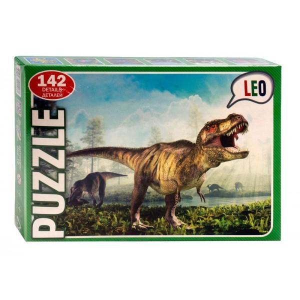 "Пазлы 142 эл. ""Динозавр"" 068-10 (12) ""LEO"""