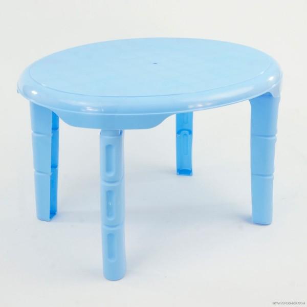 """Стол детский овальный (1) - цвет голубой """"K-PLAST"""""""
