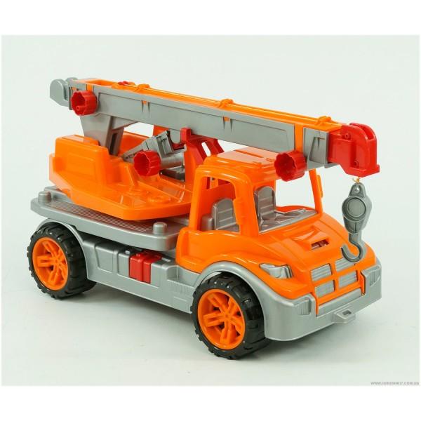 "Машина ""Автокран"" 3695 (4) цвет оранжевый ""ТЕХНОК"""