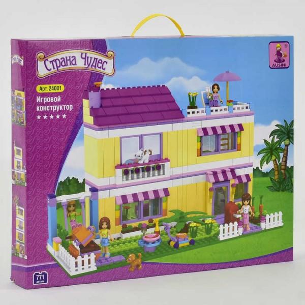 """AUSINI 24001 (6) """"Мир Чудес. Загородный дом"""" 771 деталей, в коробке"""