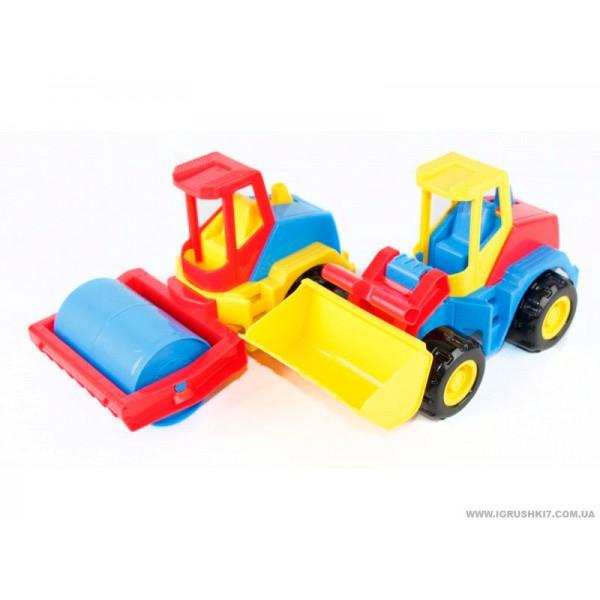 "Машина ""Tech Truck"" 39476 (9) 2 вида, ""ТИГРЕС"""