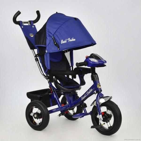 Велосипед 3-х колёс. 7700 В - 6890 /ЭЛЕКТРИК/ Best Trike (1) ПОВОРОТНОЕ СИДЕНЬЕ, НАДУВНЫЕ КОЛЕСА переднее колесо d=29см. задние d=26см