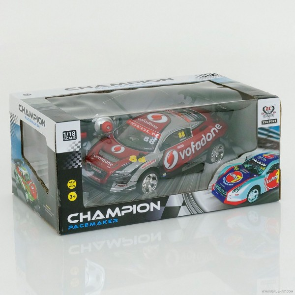 Машина 333 - Р021 (24) р/у, 2 цвета, аккум. 4.8V, в коробке