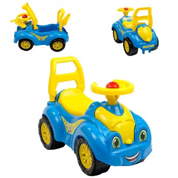 "Беби машина 3510 (3) цвет голубой, /ЦЕНА ЗА 1 ШТ/ ""ТЕХНОК"""