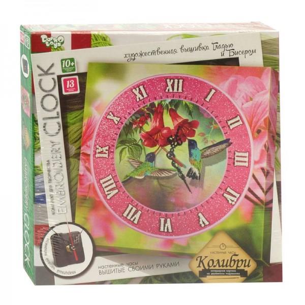 """Часы с вышивкой гладью """"Embroidery clock"""" (10) """"ДАНКО ТОЙС"""""""