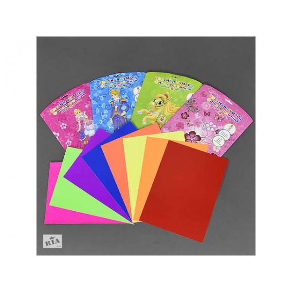Цветная бумага 01409