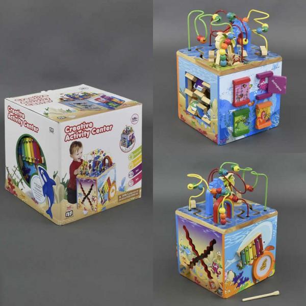 Деревянная логический куб С 23044 (1)