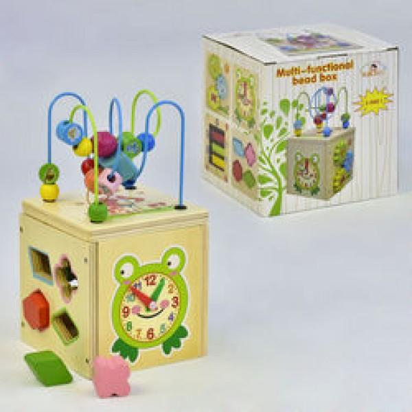Деревянный Логический куб 5в1 С 35873 (27)