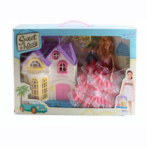 Домик для куклы дача 8601-1MK
